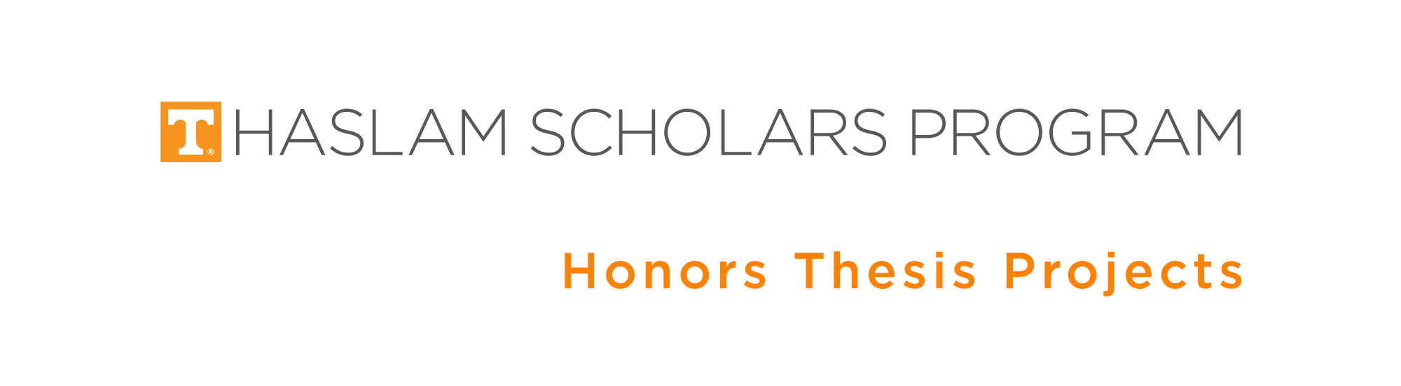 Haslam Scholars Projects