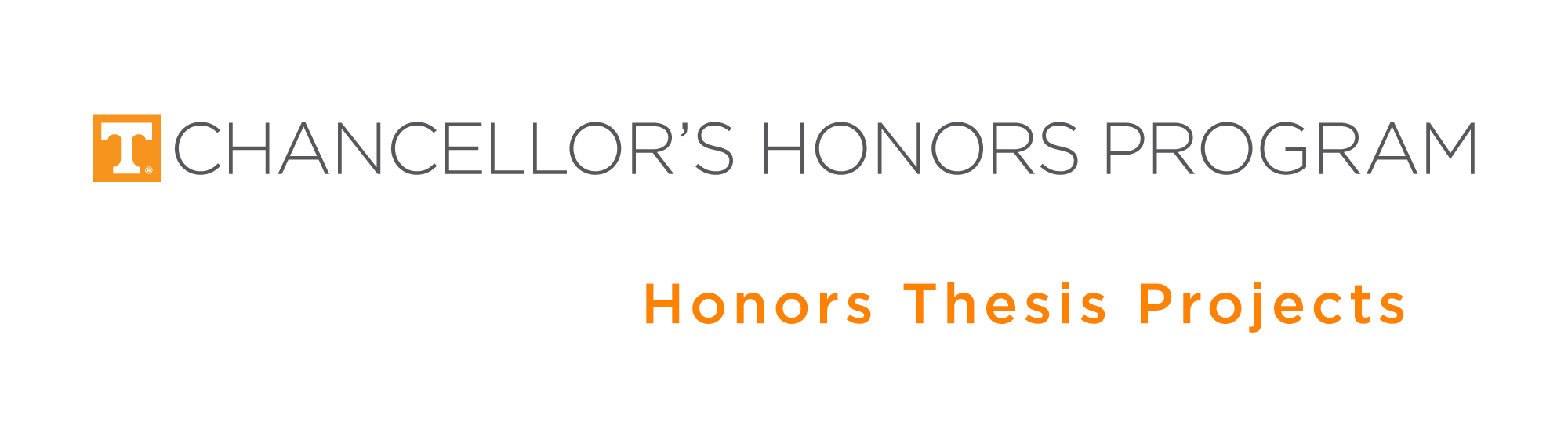 Chancellor's Honors Program Projects | Supervised