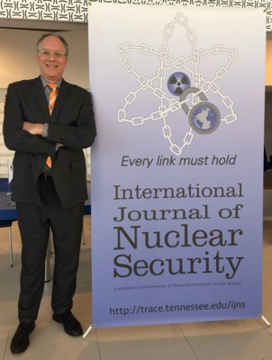 Managing editor, Russel Hirst in Vienna at INSEN 2015