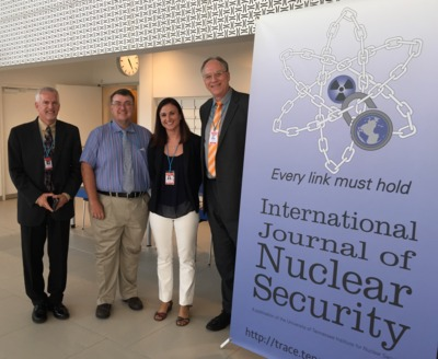 Four members of the IJNS editorial team in Vienna at INSEN 2015