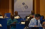 Journal banner at annual meeting of the International Nuclear Security Education Network