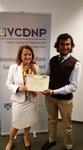 IJNS Book Review Editor, Arjun Banerjee, and Executive Director of VCDNP, Laura Rockwood 2018