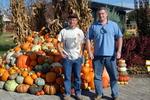 UT Gardens Knoxville Pumpkins by John Cummins