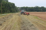 Bailing Hay at the Little River Animal and Environmental Unit