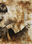 Burn Studies Collaboration: Sarah by Annie Fletcher