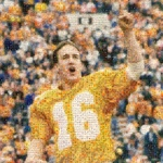 Peyton Manning Special Collections Collage by Jonathan W. Martin